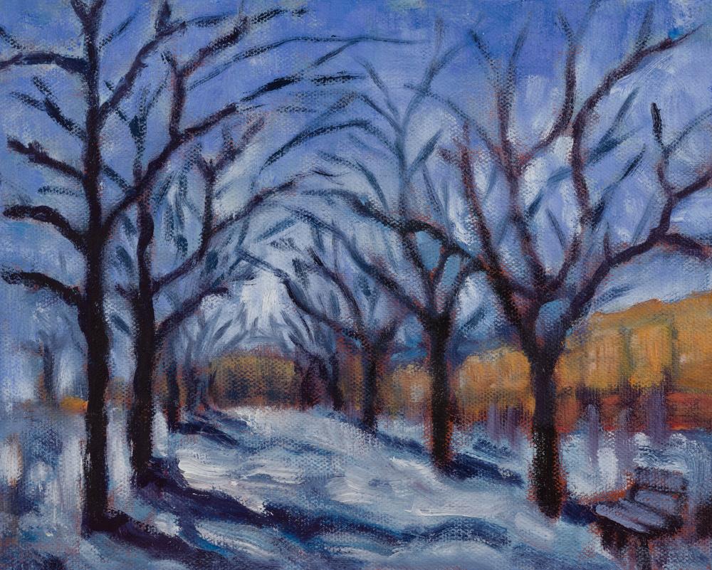 Cherry avenue seasons - Winter