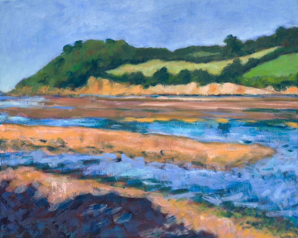 Erme estuary, low tide
