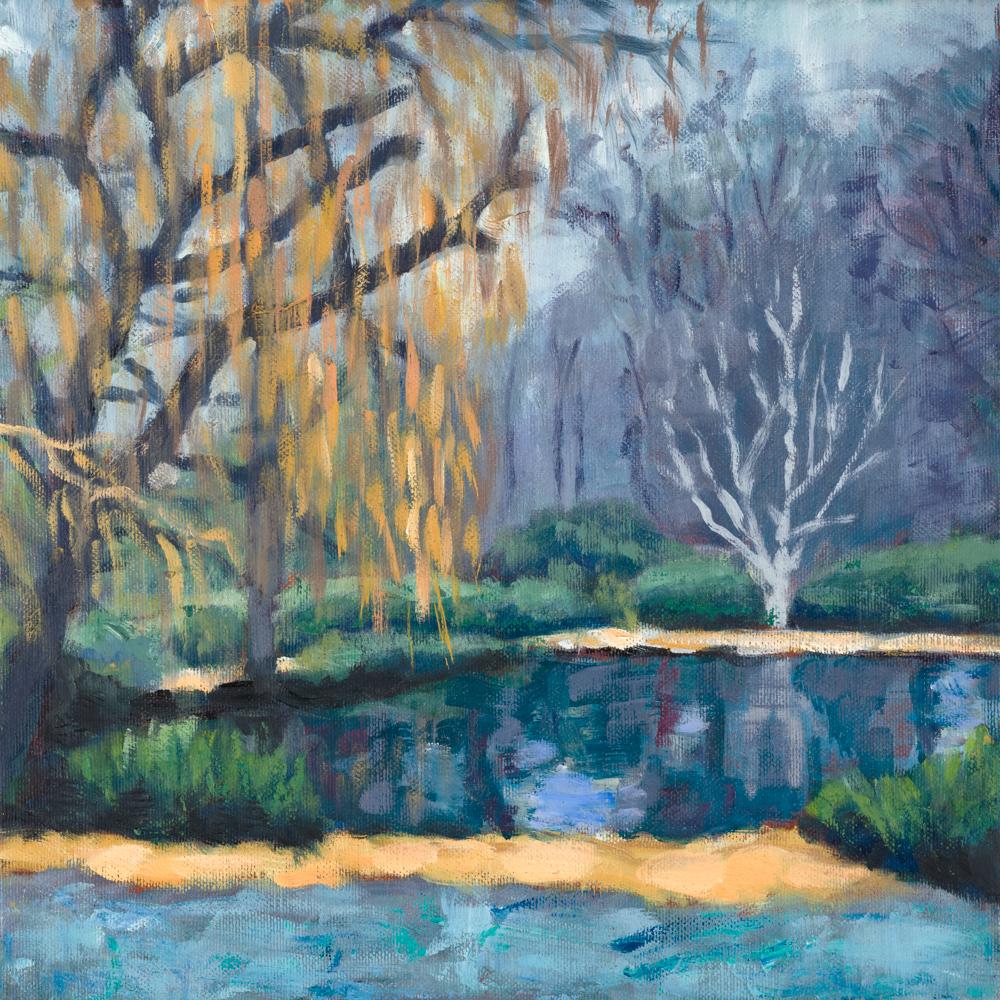 Isabella Plantation pond